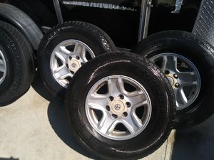 TIRES/RIMS FOR TOYOTA for Sale in Norwalk, CA