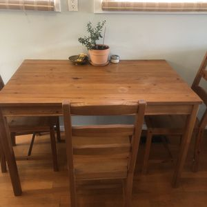 Ikea Wood Kitchen Table for Sale in Milwaukie, OR