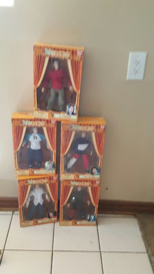 5 N SYNC COLLECTIBLES TOY NEW IN BOX for Sale in Norwalk, CA