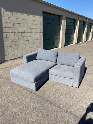 Grey IKEA Sofa, Couch, Sectional - Reversible with Storage 😍 for Sale in Scottsdale, AZ