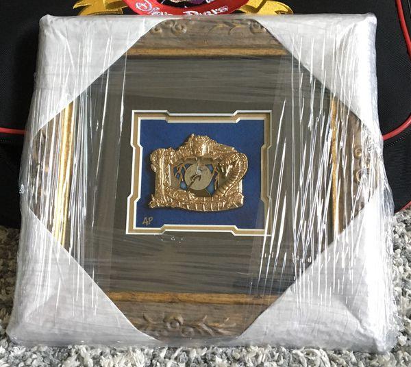Disney D23 Framed AP Pin WDI Indiana Jones