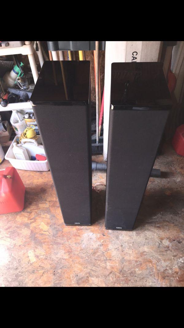 Sony DA 4300es ,Definitive technology Bp 10. And pro center speaker