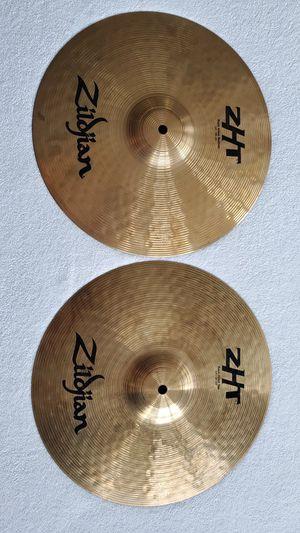zildjian AVEDIS ZHT ROCK HIHAT & BOTTOM PAIR for Sale in LAUD BY SEA, FL