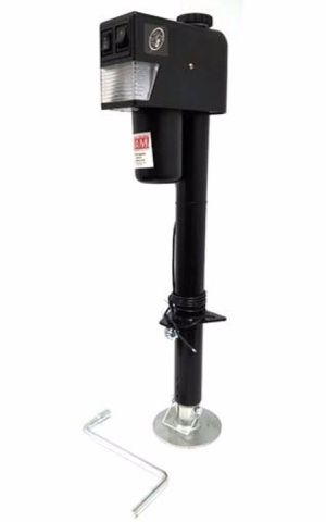 RAM Trailer Products EJ-3520-BBX Black Electric Trailer Jack with Drop Leg (3500 lb.) for Sale in Florissant, MO