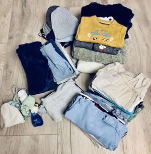 🍭 Tons of baby Toddler boy clothes pants onesies socks hoodie shirts NB newborn 3 6 9 12 18 24 months 2t for Sale in San Diego, CA