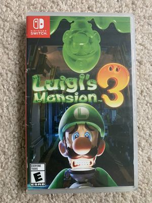 luigis mansion nintendo switch for Sale in Happy Valley, OR