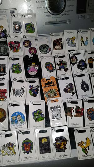 Disney collectible pins new 5$ each for Sale in Downey, CA