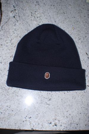 FW18 one point Bape beanie Navy for Sale in Portland, OR