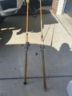 Two vintage fishing rods for Sale in Logan Township, NJ