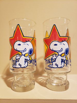 Snoopy & Woodstock Superstar Glass 1958/65 Peanuts Vintage Collection for Sale in Chambersburg, PA