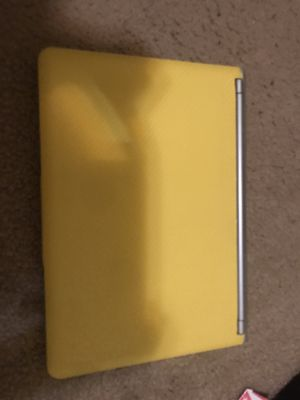 Yellow chromebook for Sale in Tyler, TX