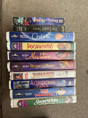 Disney movies vhs for Sale in Denver, CO