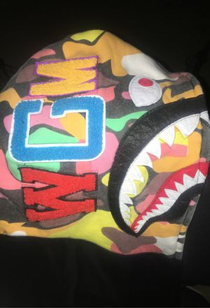 Color Camouflage Bape hoodie for Sale in Hayward, CA