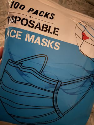 disposable medical grade face masks for Sale in Miami, FL