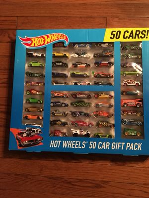 Hot wheels 50 car gift pack. $40 price firm. Cannot budge. for Sale in Chicago, IL