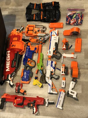 Nerf guns and accessories for Sale in Vancouver, WA