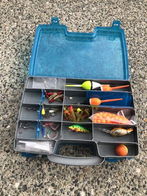 Fishing tackle box for Sale in Everett, WA