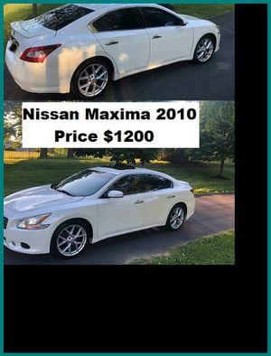 ֆ12OO_2010 Nissan Maxima S for Sale in Oklahoma City, OK