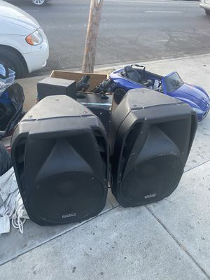 Edison huge speakers for Sale in Los Angeles, CA