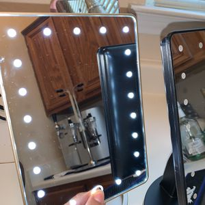 Impressions Vanity Makeup LED light up makeup mirrors (black, gold, pink) for Sale in DeSoto, TX