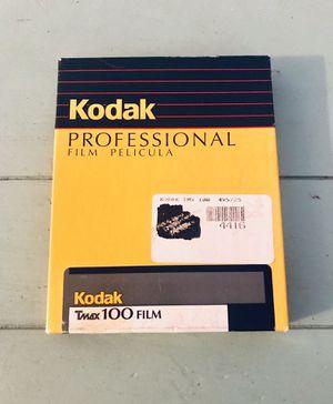 Sealed box Tmax 100 film Kodak (25 sheets) expired for Sale in Longview, WA