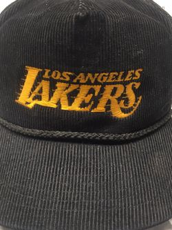 Vintage NBA LA Lakers Corduroy Hat for Sale in Renton,  WA