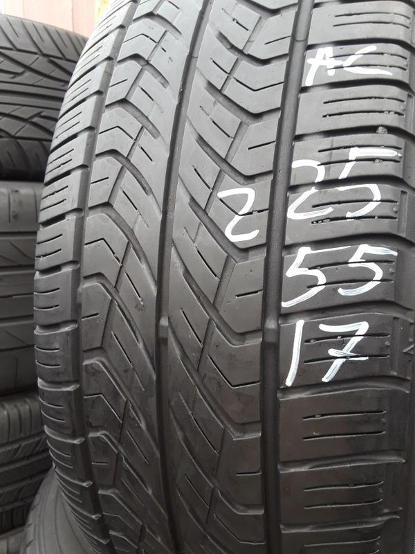225/55-17 #2 tires