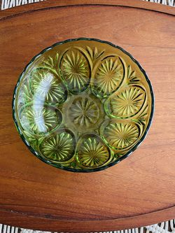 Vintage Green Glass Bowl for Sale in Garden Grove,  CA