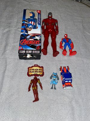 Lot of Super Hero Toys for Sale in Orland Park, IL