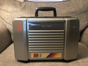 Vintage Sony Mini8 Video8 Handycam Carrying Case for Sale in Fresno, CA