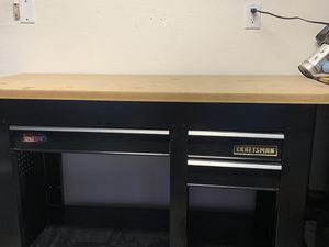 Craftsman work bench with 3 drawers for Sale in Phoenix, AZ