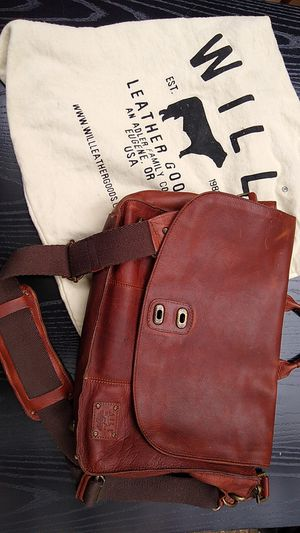 "WILL ""Kent"" leather messenger bag for Sale in Portland, OR"