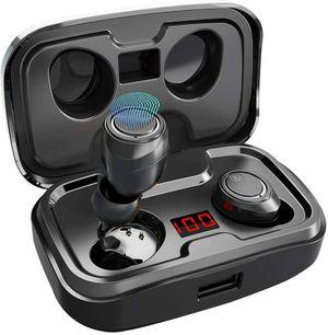 AIKELA X10 TWS Bluetooth 5.0 Headphones 3500mAh LED Charging Dock for Sale in Los Angeles, CA