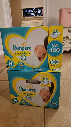 Newborn diapers for Sale in Fort Lauderdale, FL