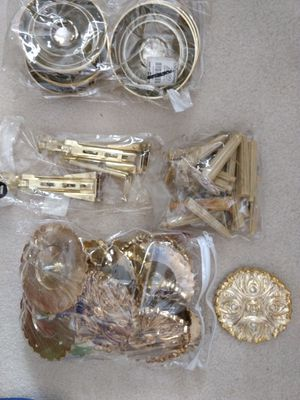Curtain hardware - decorative tie backs for Sale in West Palm Beach, FL
