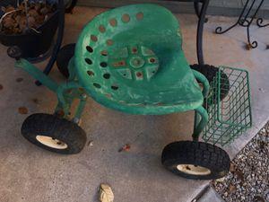 Tractor gardening stool for Sale in Phoenix, AZ