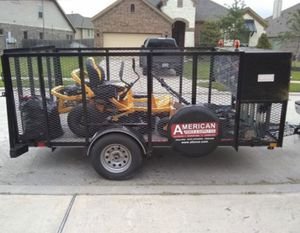 12' Utility Bumper Pull Black Trailer for Sale in Marksville, LA