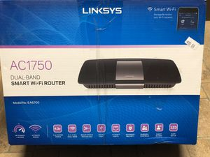 Linksys smart WiFi router AC1750 for Sale in Round Rock, TX