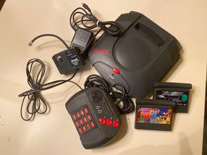 Complete Atari Jaguar Game Console with Controller & 2 Games for Sale in Memphis, TN