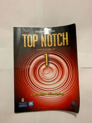 Top Notch with activebook (second edition) with cd for Sale in Opa-locka, FL