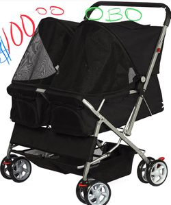 Double dog stroller new in box fully separated for Sale in Knoxville,  TN