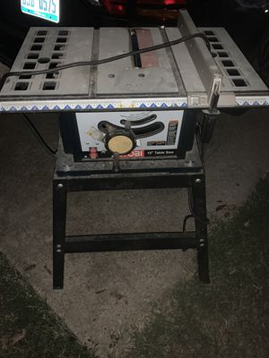 Roybi table saw for Sale in Waxahachie, TX