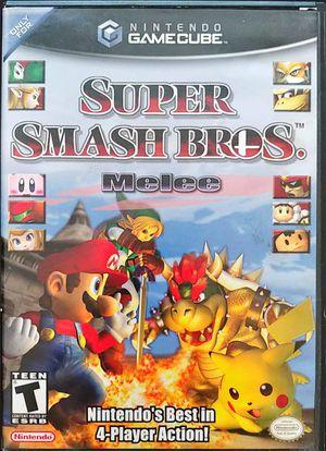 Super Smash Bros Melee - Nintendo Gamecube for Sale in Tampa, FL