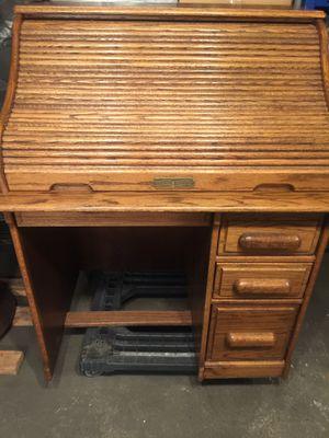 Antique roll up desk vintage. for Sale in Los Angeles, CA