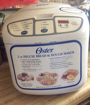 Ouster 2lb. Deluxe Bread & Dough Maker for Sale in Menifee, CA