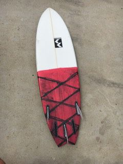 "5'8"" Blackbird Surfboard for Sale in Encinitas, CA"