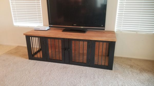 Dog kennel made by American Woodwork {link removed}