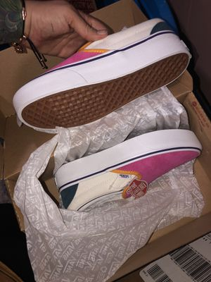 Vans- Mini Cord Slip on Platform size 7 women / 5.5 youth for Sale in South Bend, IN