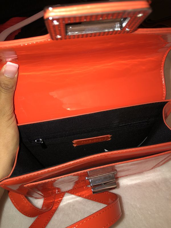 Orange cute purse