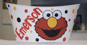 Sesame Street Elmo Easter Basket Personalized for Sale in San Antonio, TX